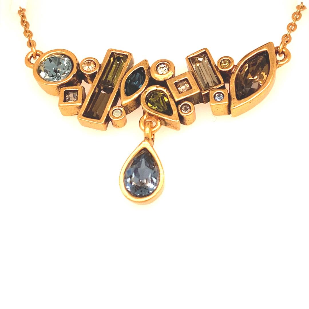 Aura Necklace in Gold, Cascade
