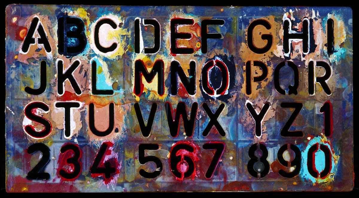 Alphabet Template, Ci... by  Alison Shaw - Masterpiece Online