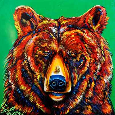 Bear - DS 182989 by  Brian Porter - Masterpiece Online