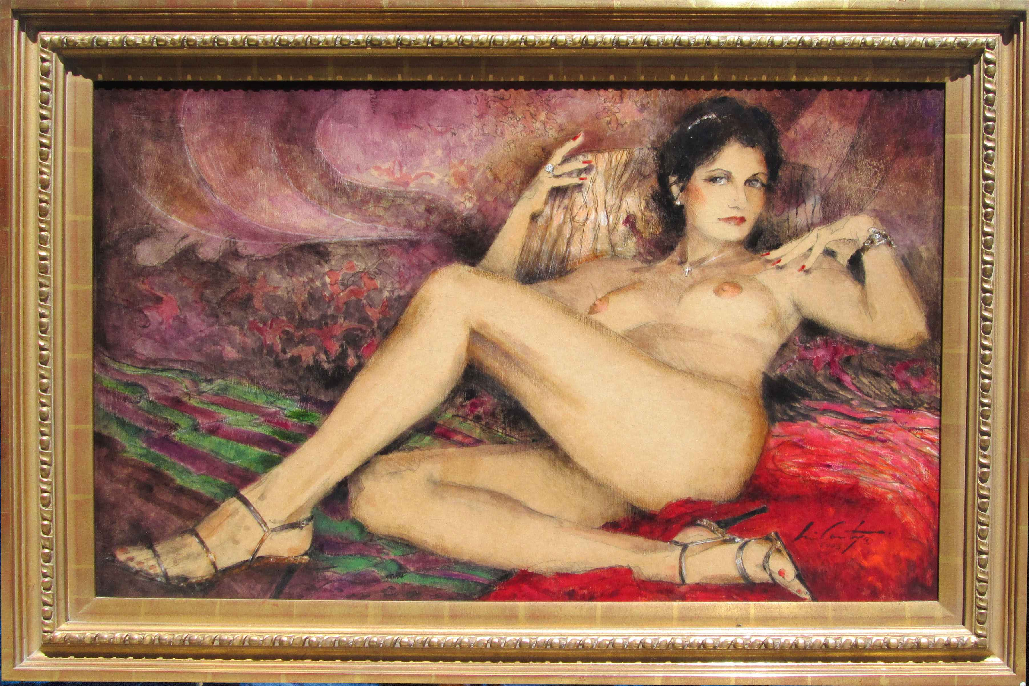 Seduction by  Ray McCarty 1934-2018 - Masterpiece Online
