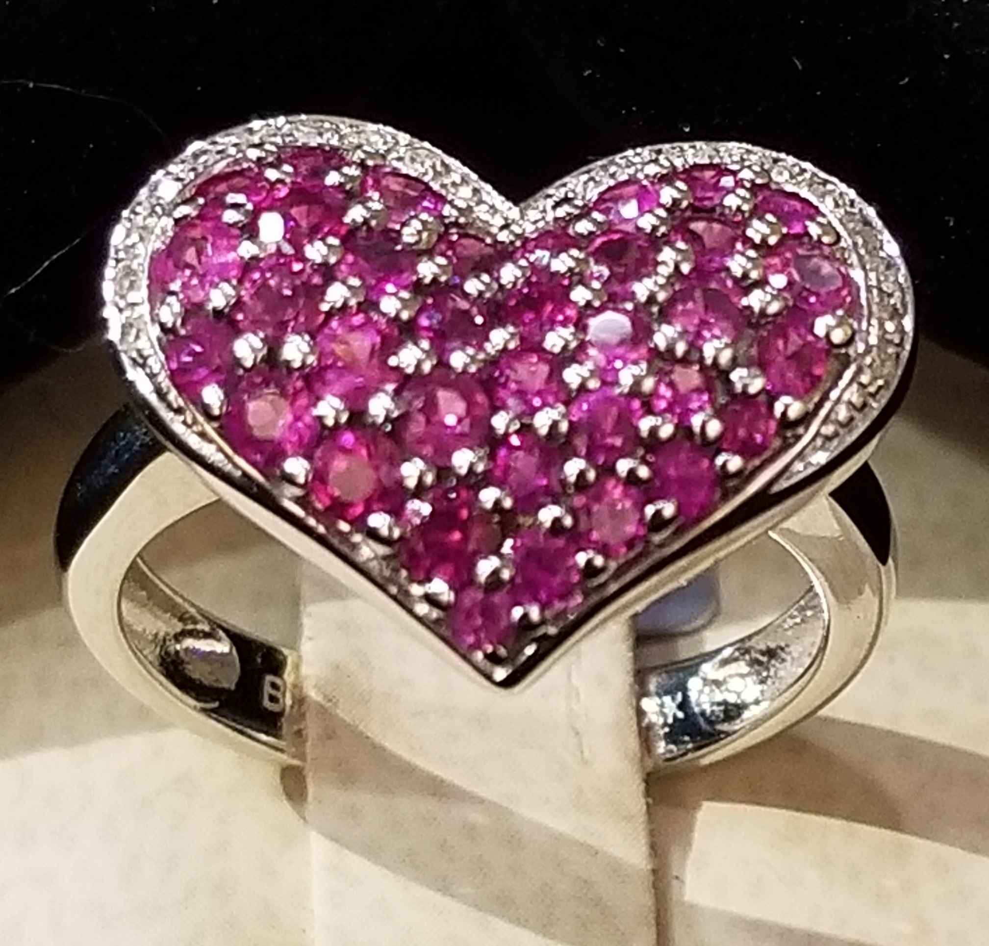 Ruby Heart Ring - WG by  My Jeweler - Masterpiece Online