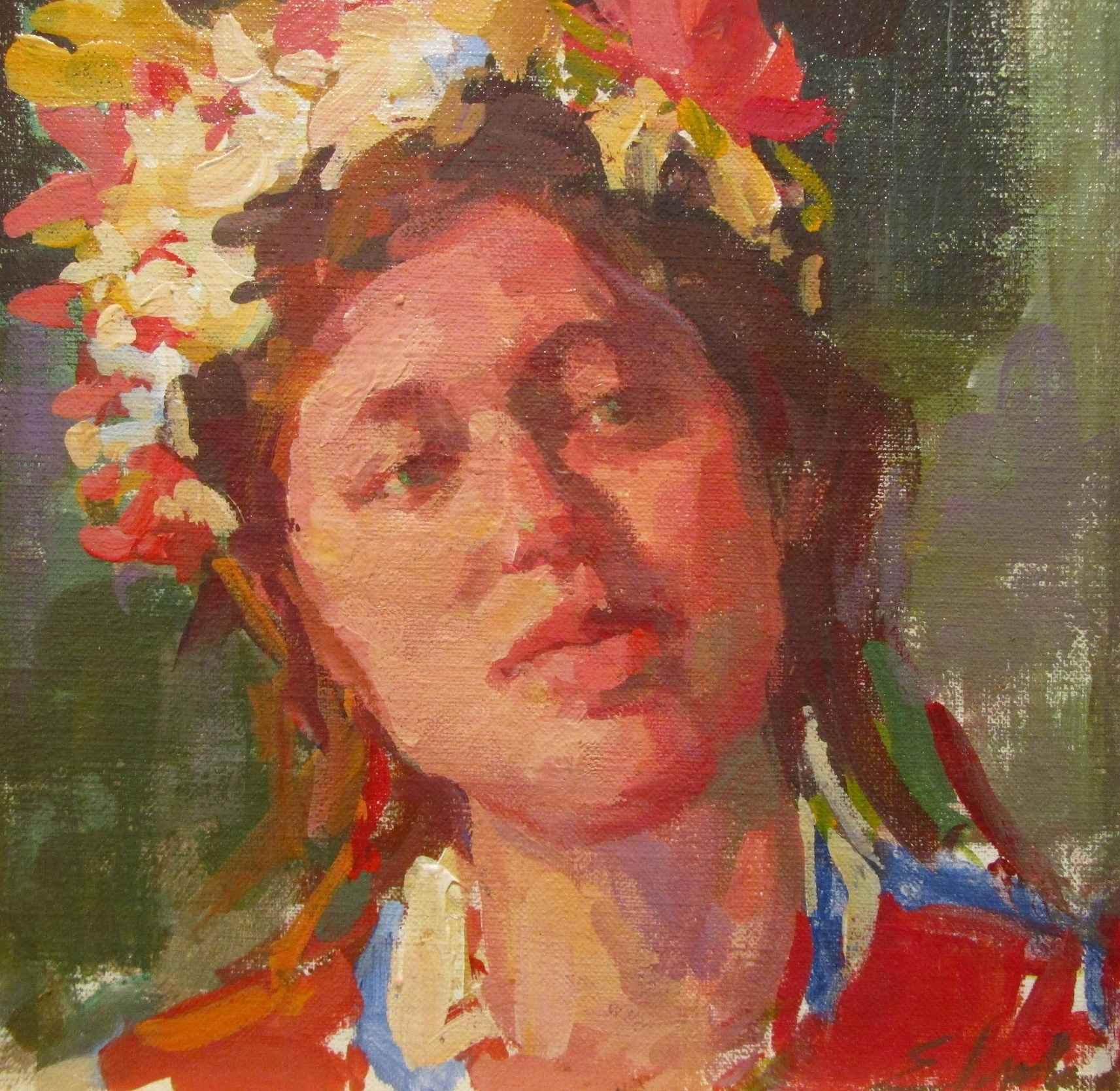Flower Girl by  Melinda Morrison - Masterpiece Online