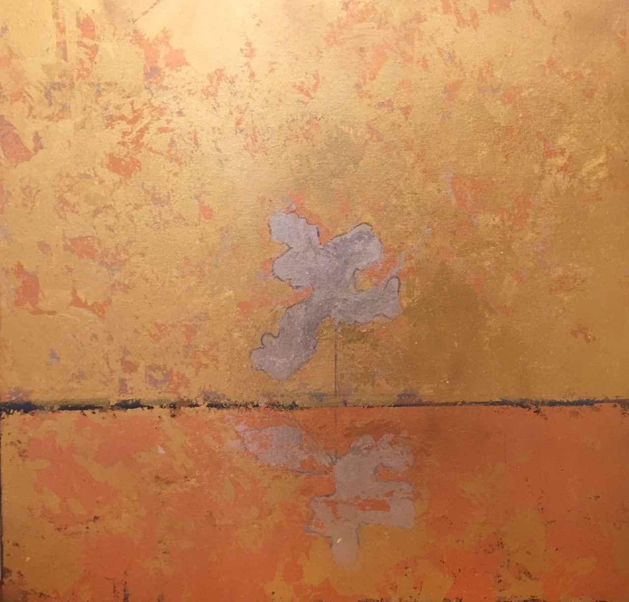 Gold Sky, Silver Tree by  Steve Lyons - Masterpiece Online