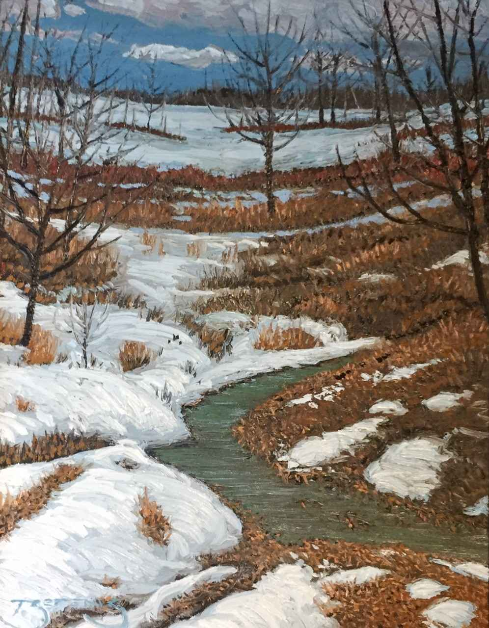 Spring Creek #2 Noisy... by  Mark Berens - Masterpiece Online