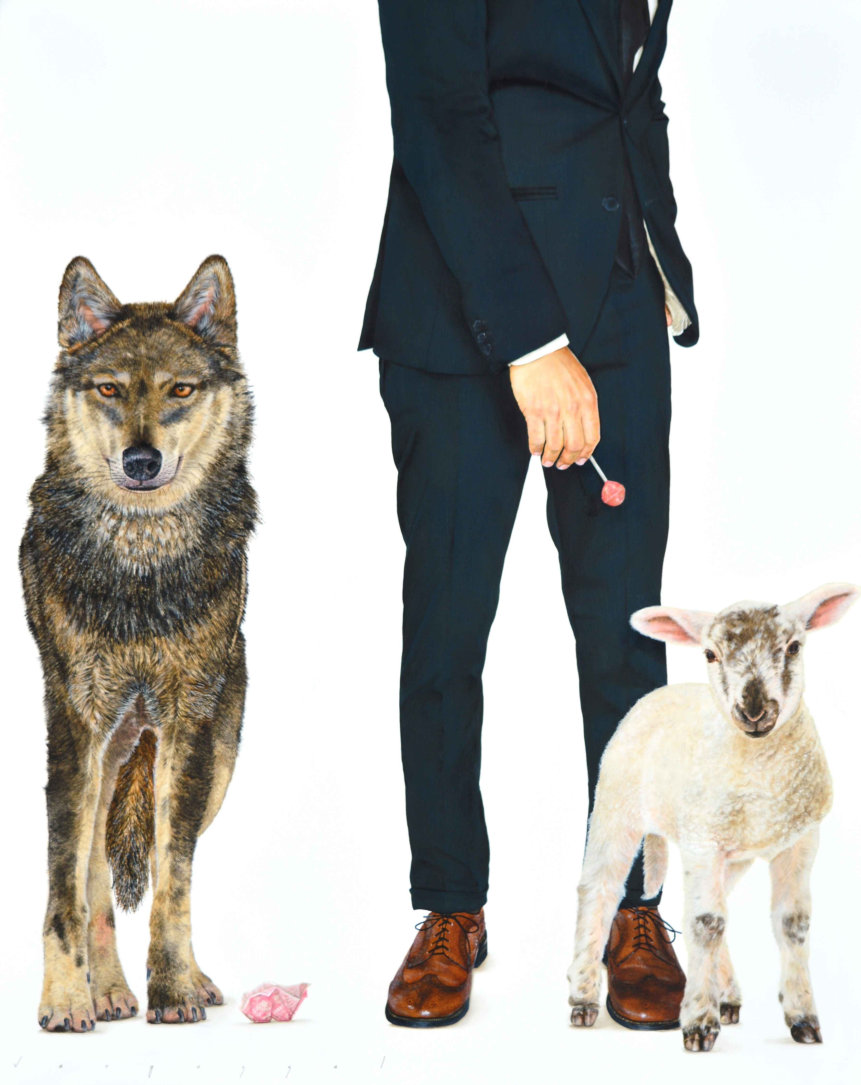 BETWEEN WOLF AND LAMB by Mr. ARIEL VARGASSAL - Masterpiece Online