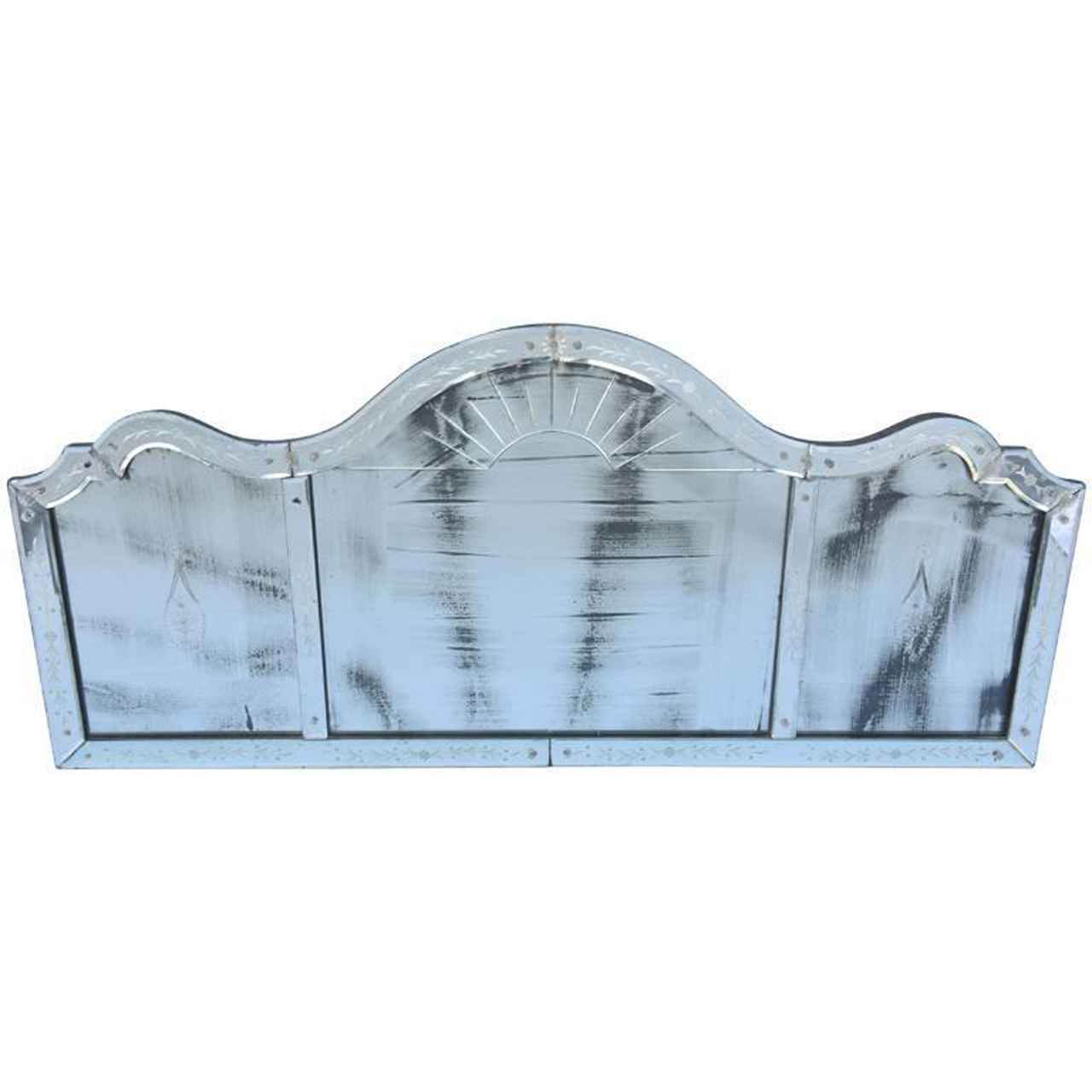 Etched Venetian Glass... by  Italian  - Masterpiece Online