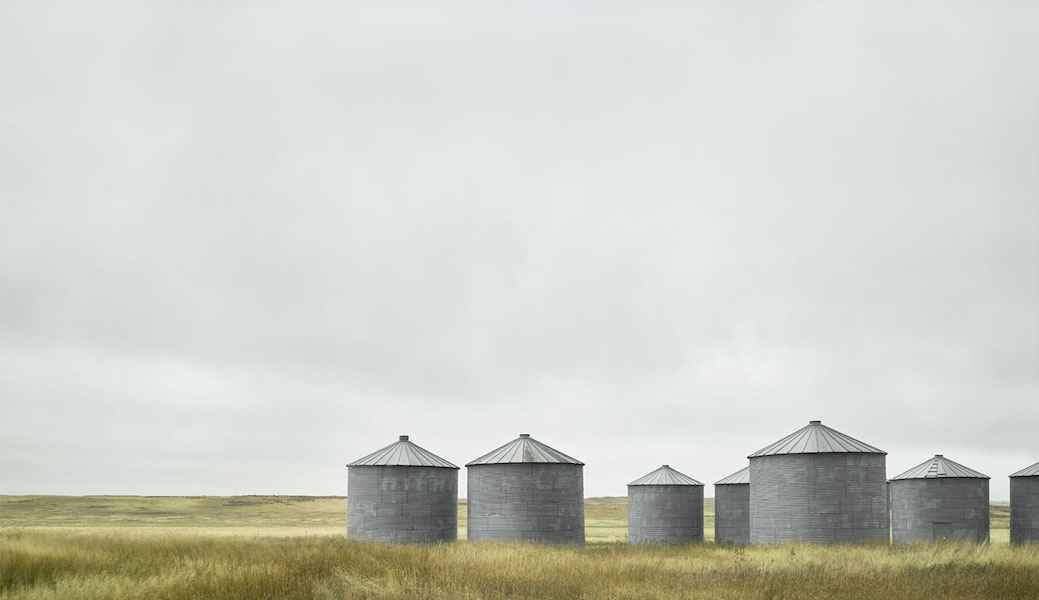 Grain Silos by  Jim Westphalen - Masterpiece Online
