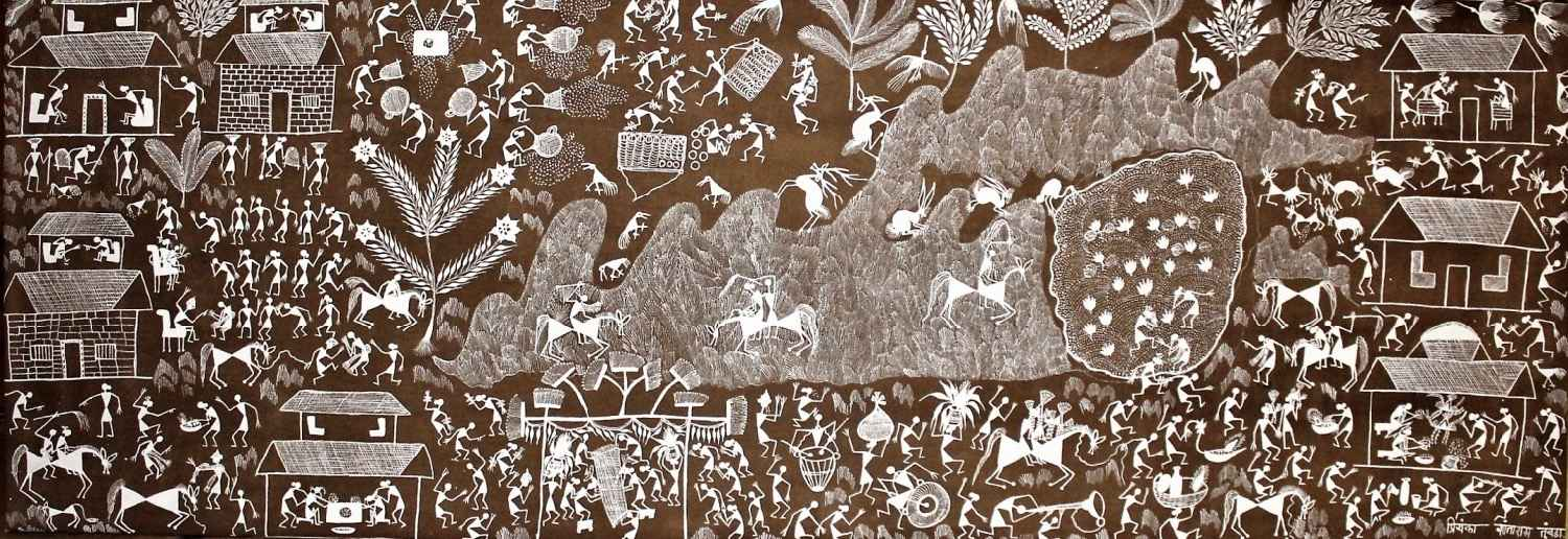 Narration by  WARLI ART - Masterpiece Online