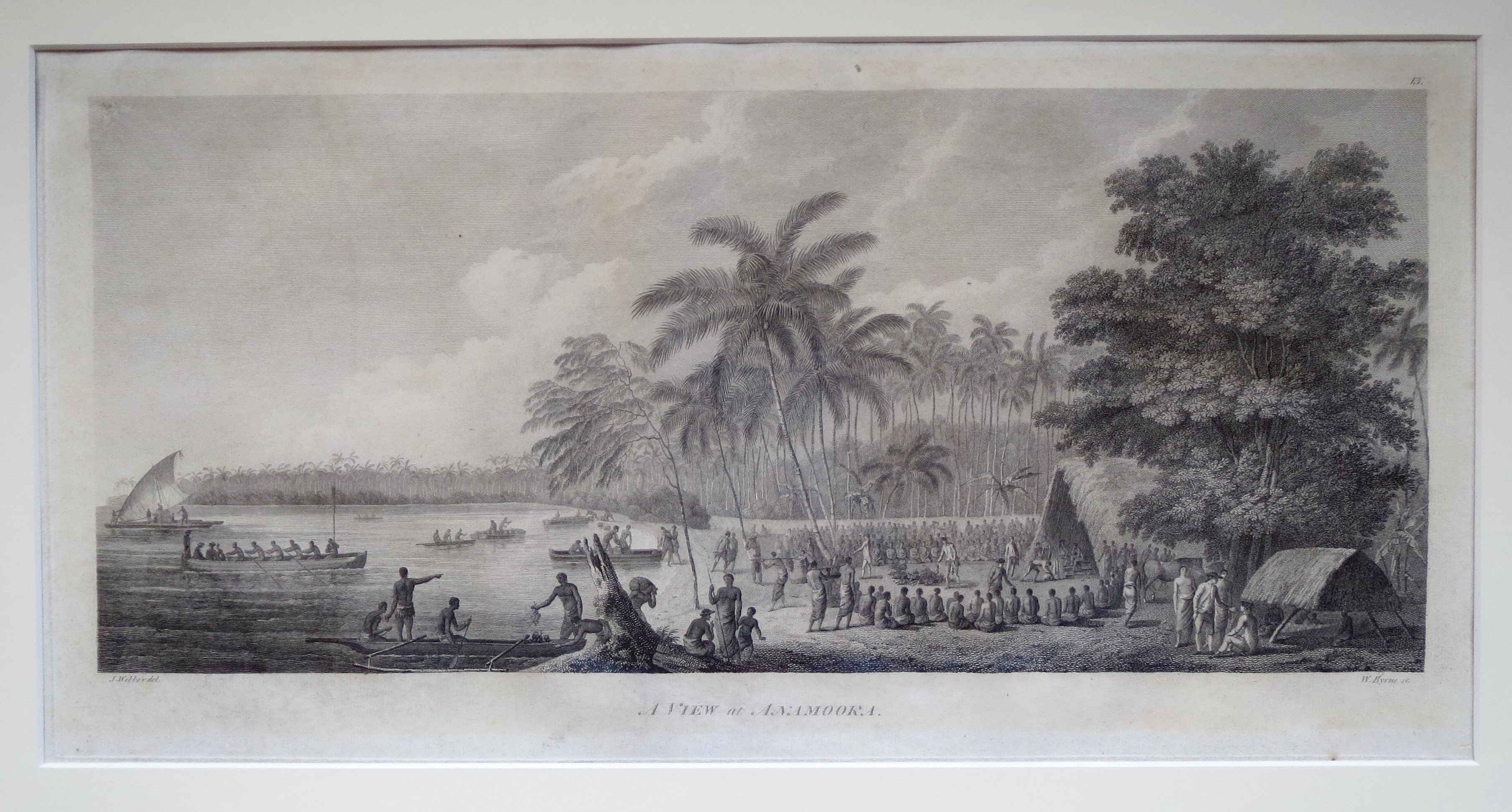A View of Anamooka by  John Webber (1752-1793) - Masterpiece Online