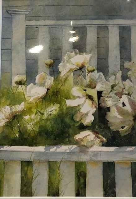 Summer White by  Nancy Motley Walton - Masterpiece Online