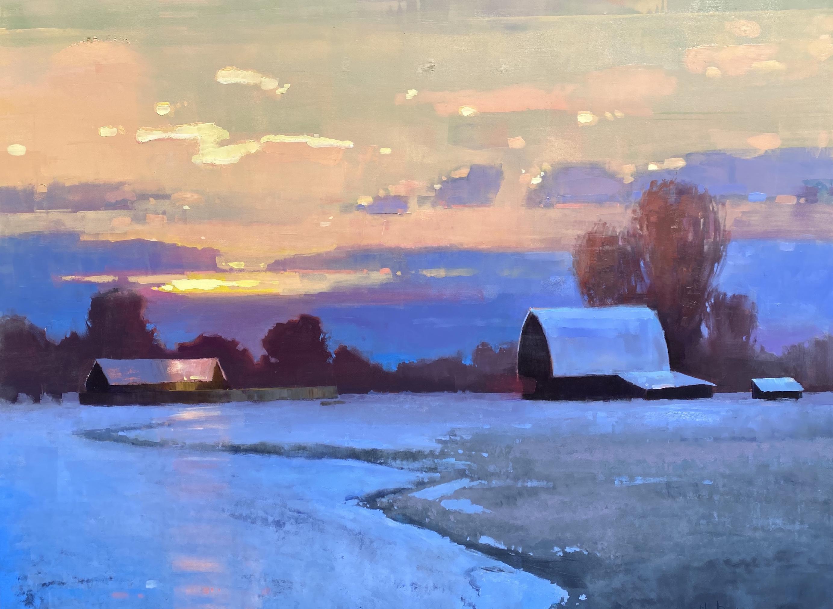 Meditative Snow by Mr. Matt Sievers - Masterpiece Online