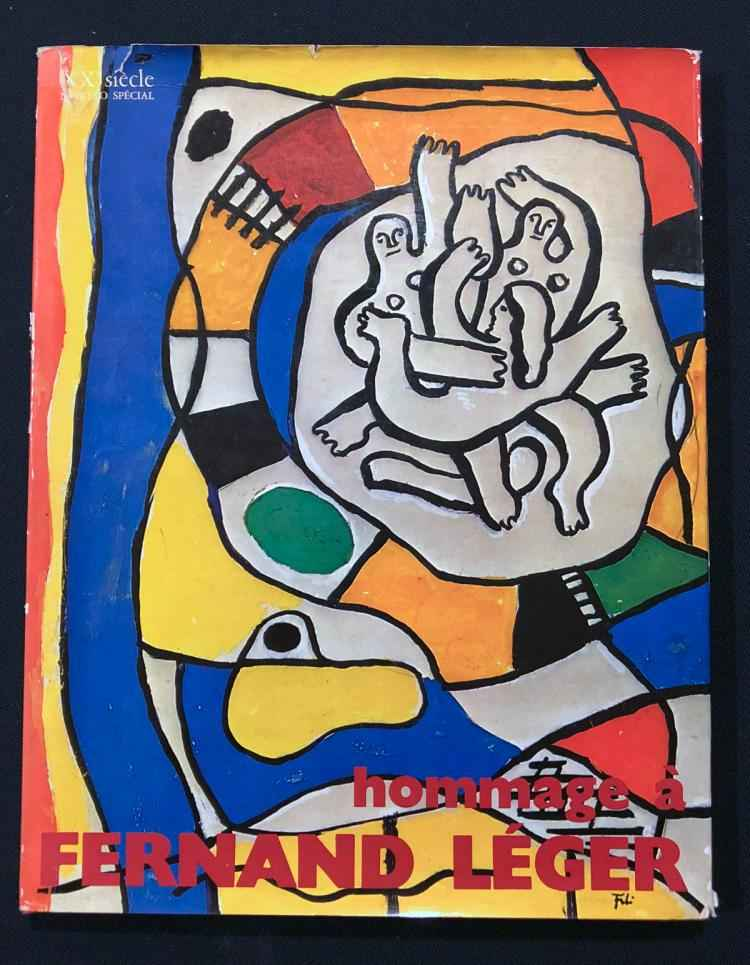Hommage to Fernand Le... by  Fernand Leger - Masterpiece Online
