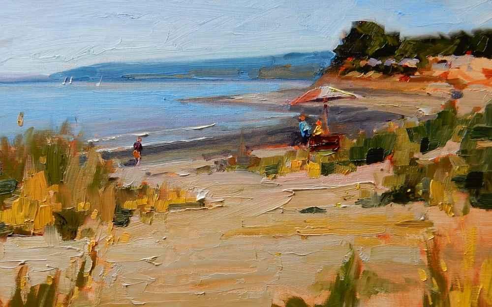 Edmonds Beach Day by  Robin Weiss - Masterpiece Online
