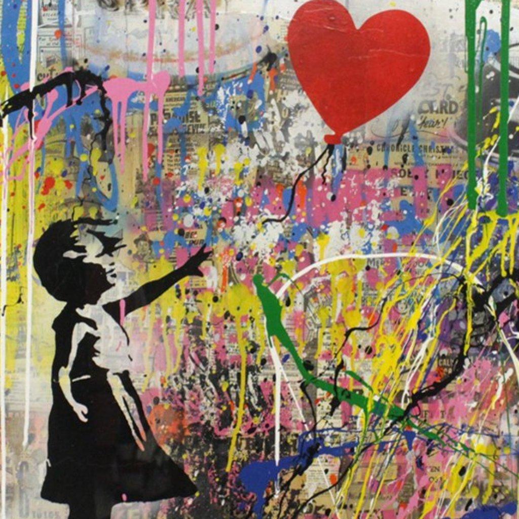 Balloon Girl 2018 by  Mr. Brainwash  - Masterpiece Online