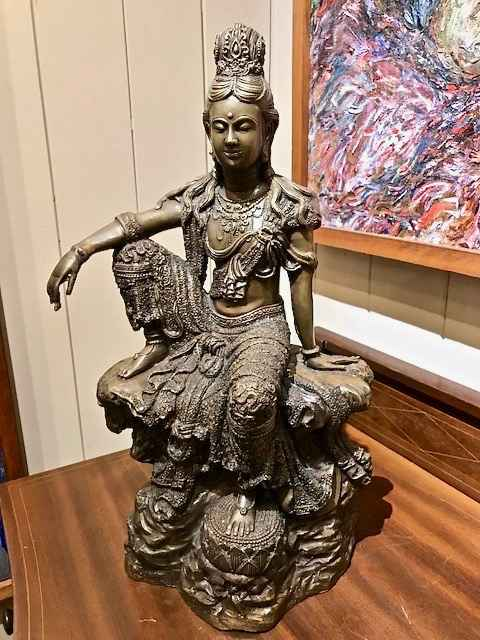 Bronze Quan Yin by   Unknown - Masterpiece Online