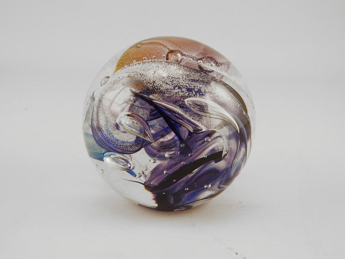 Paperweight/Purple by  Michelle Kaptur - Masterpiece Online