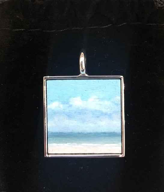 #272 Sm. Sq. Seascape by  Nell Mercier - Masterpiece Online