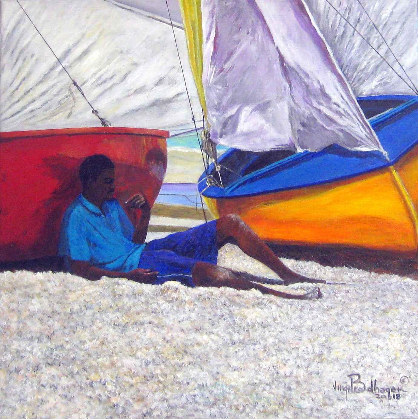 In Deep Thought by Mr. Virgil Broodhagen - Masterpiece Online