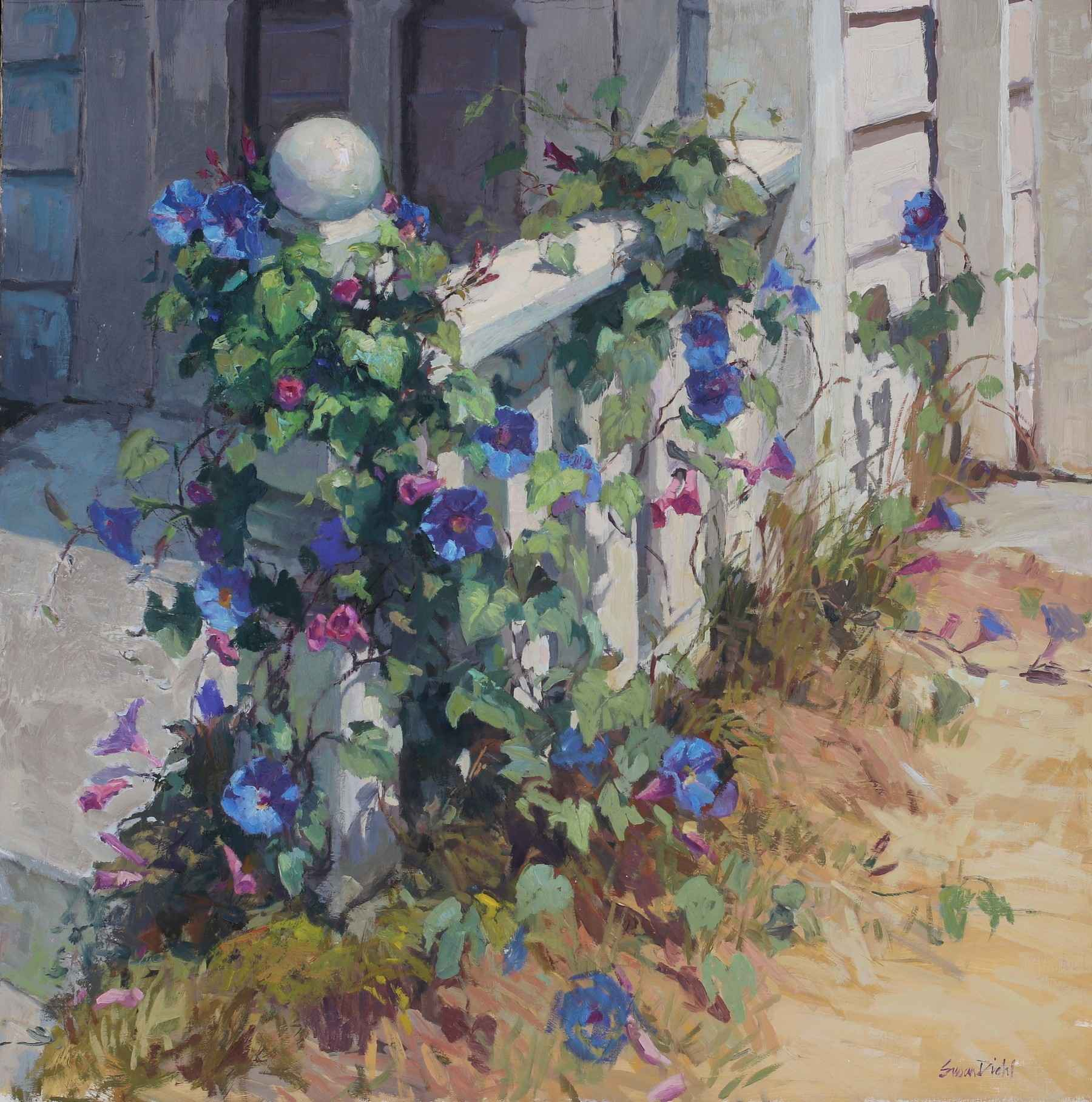Morning Glory  by  Susan Diehl
