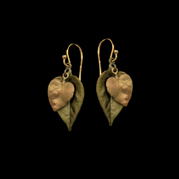 Sweet Potato Vine Earrings