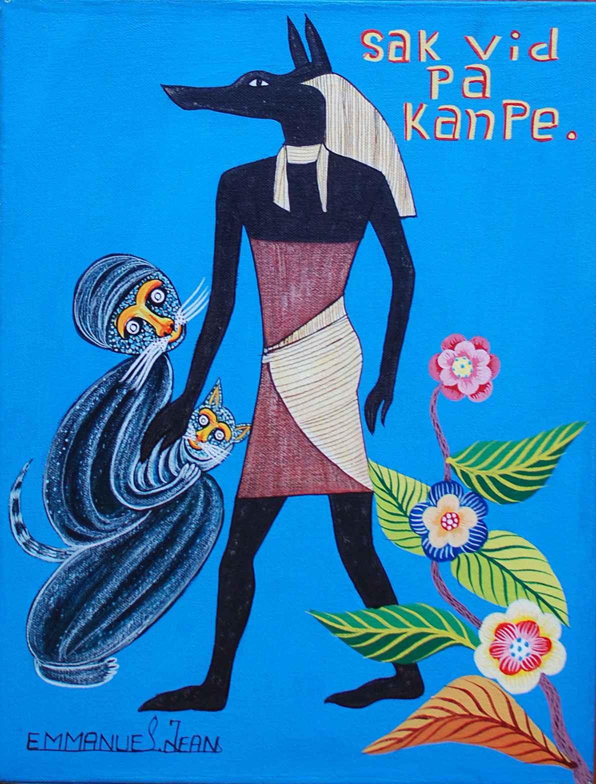 Sak vid pa kanpe by  Jean EMMANUEL - Masterpiece Online