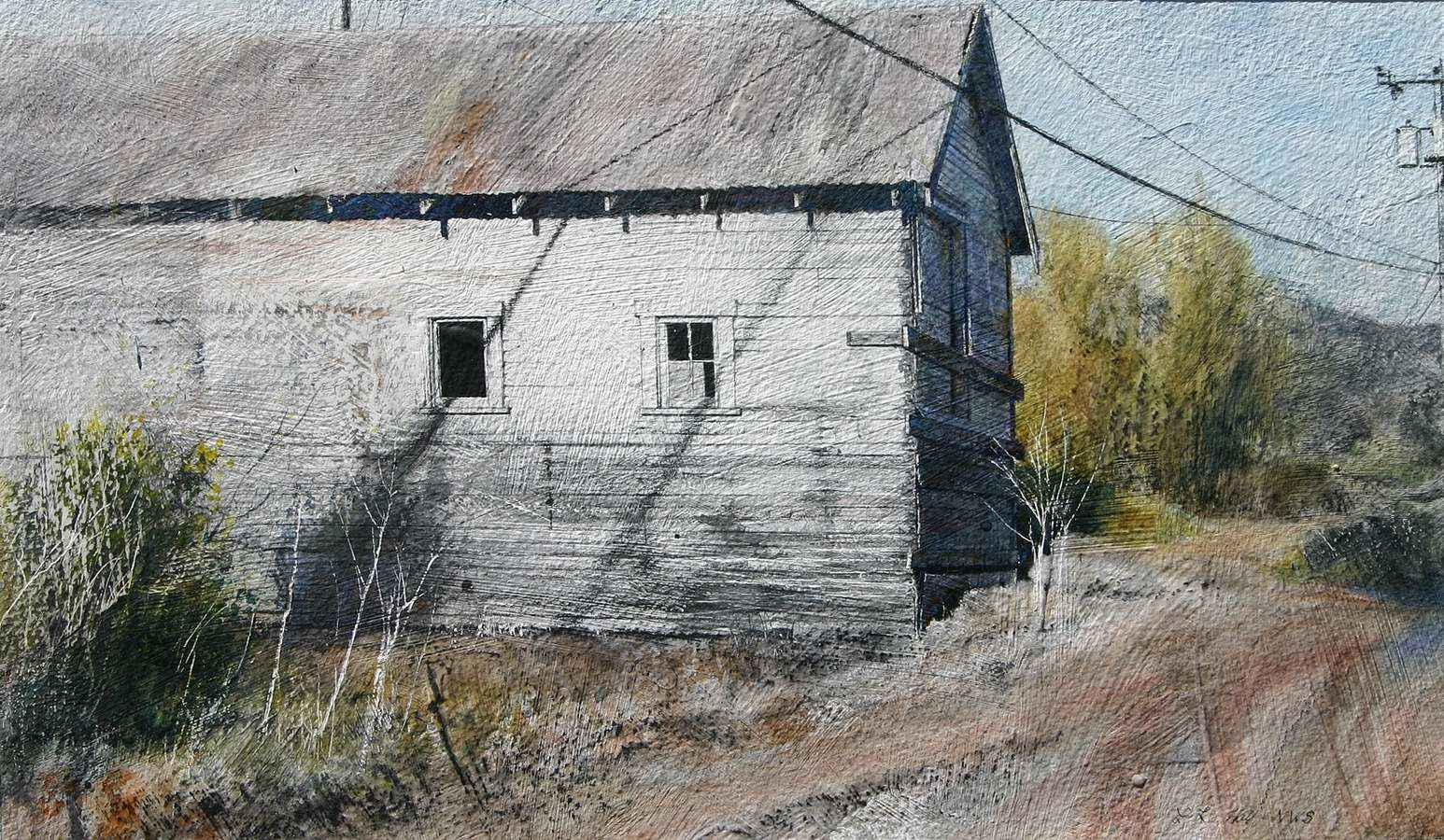 Lonely Place,II by  Lane Hall - Masterpiece Online