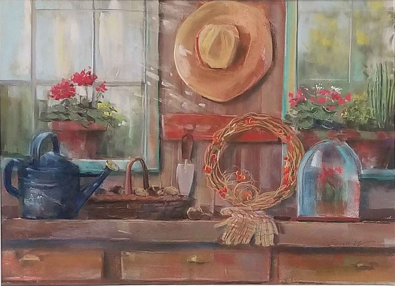 Garden Shed by  Carol Rowan - Masterpiece Online