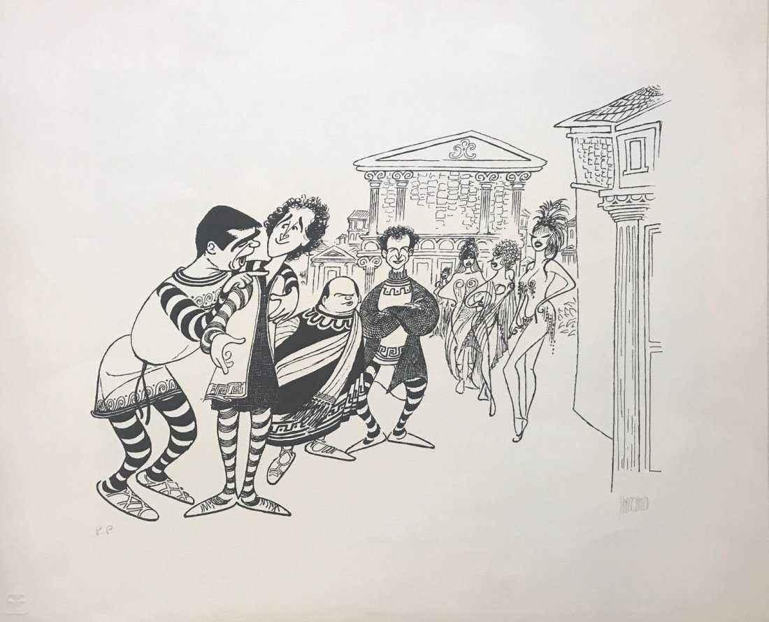 A Funny Thing Happene... by  Al Hirschfeld - Masterpiece Online