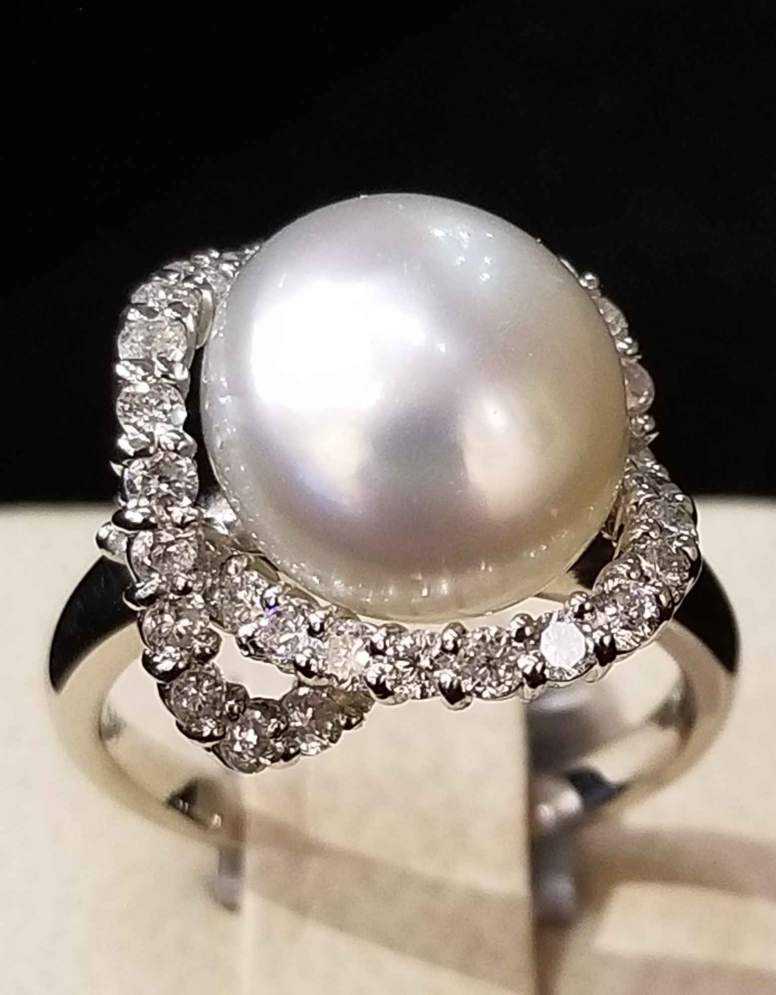 FW Pearl Ring - Plati... by  My Jeweler - Masterpiece Online