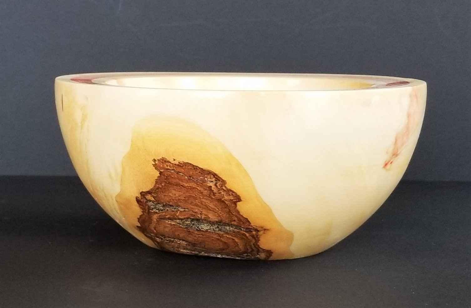 Flamed Box Elder Bowl... by  Ronald Zdroik - Masterpiece Online