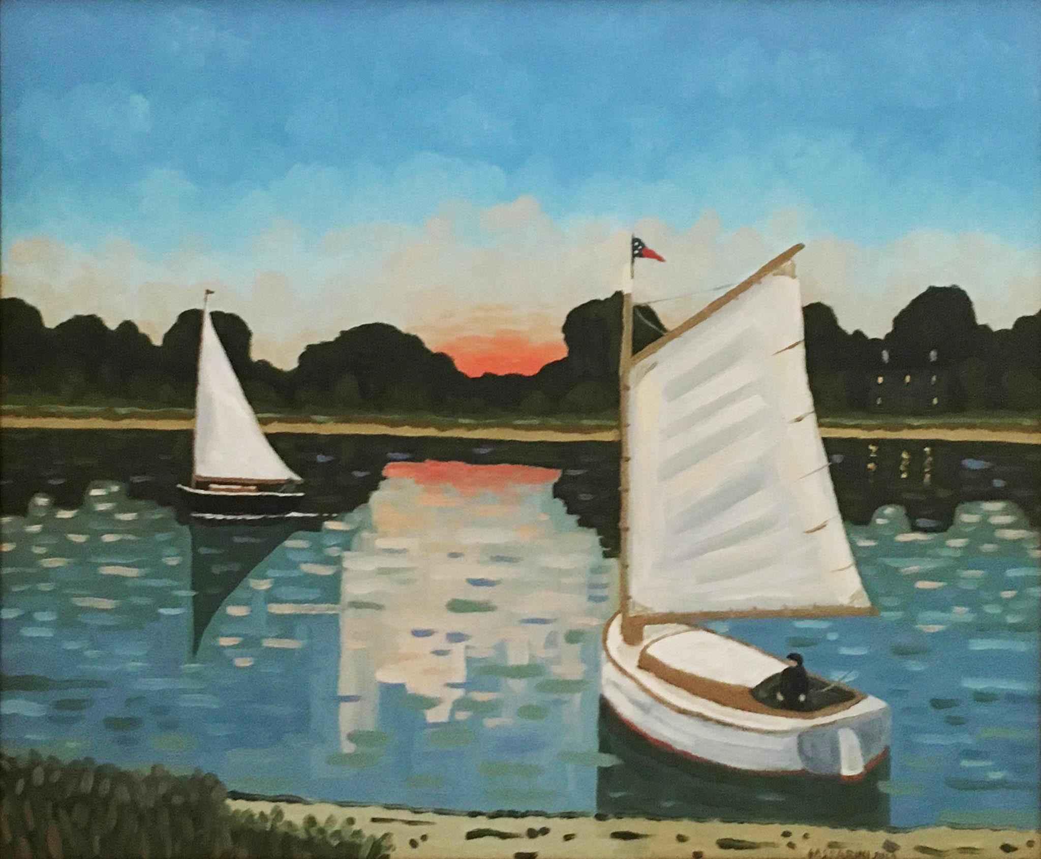 Sunset by  Claudio Gasparini - Masterpiece Online