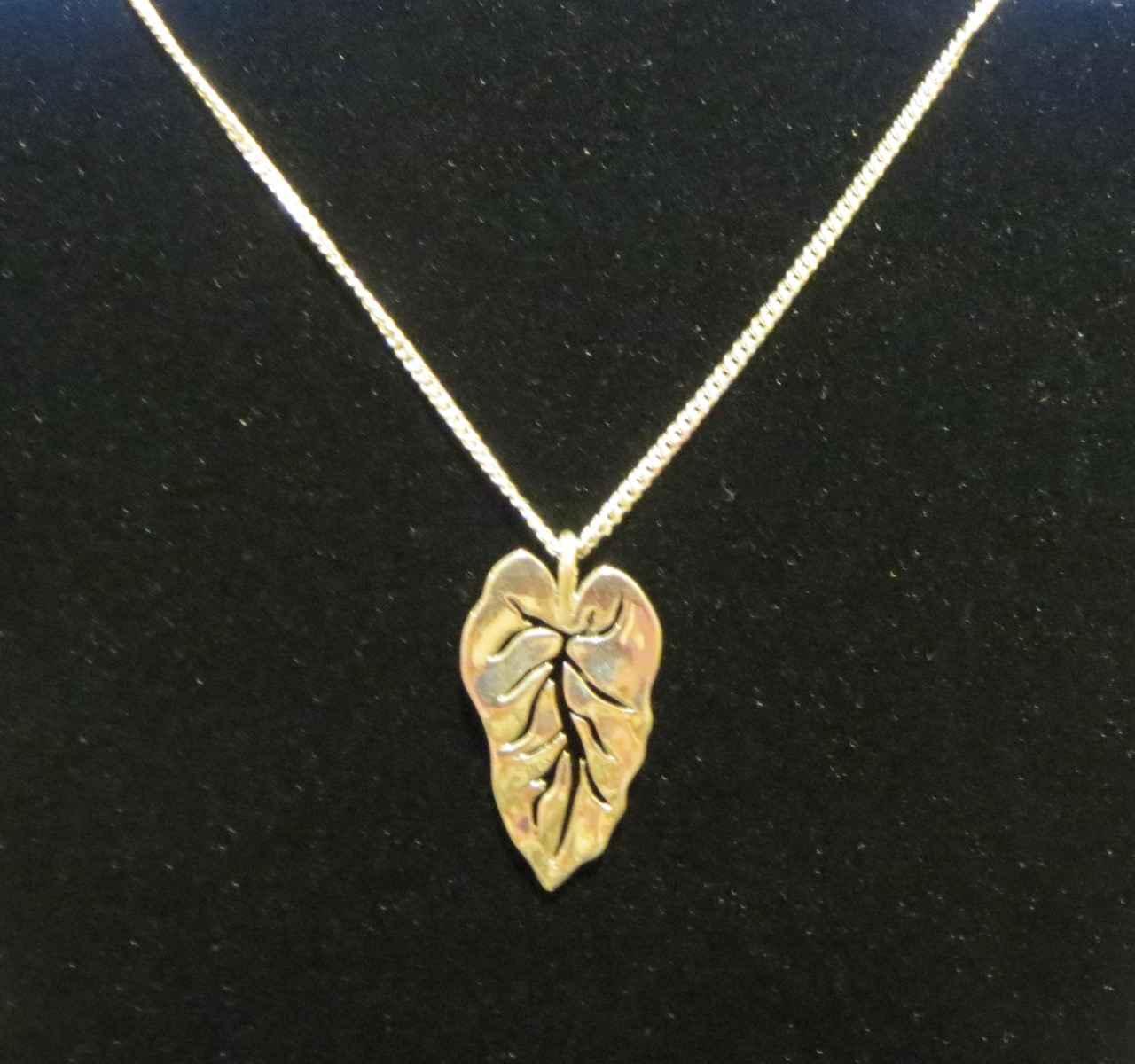 Taro Leaf Necklace by Capt. Thomas Eimer - Masterpiece Online