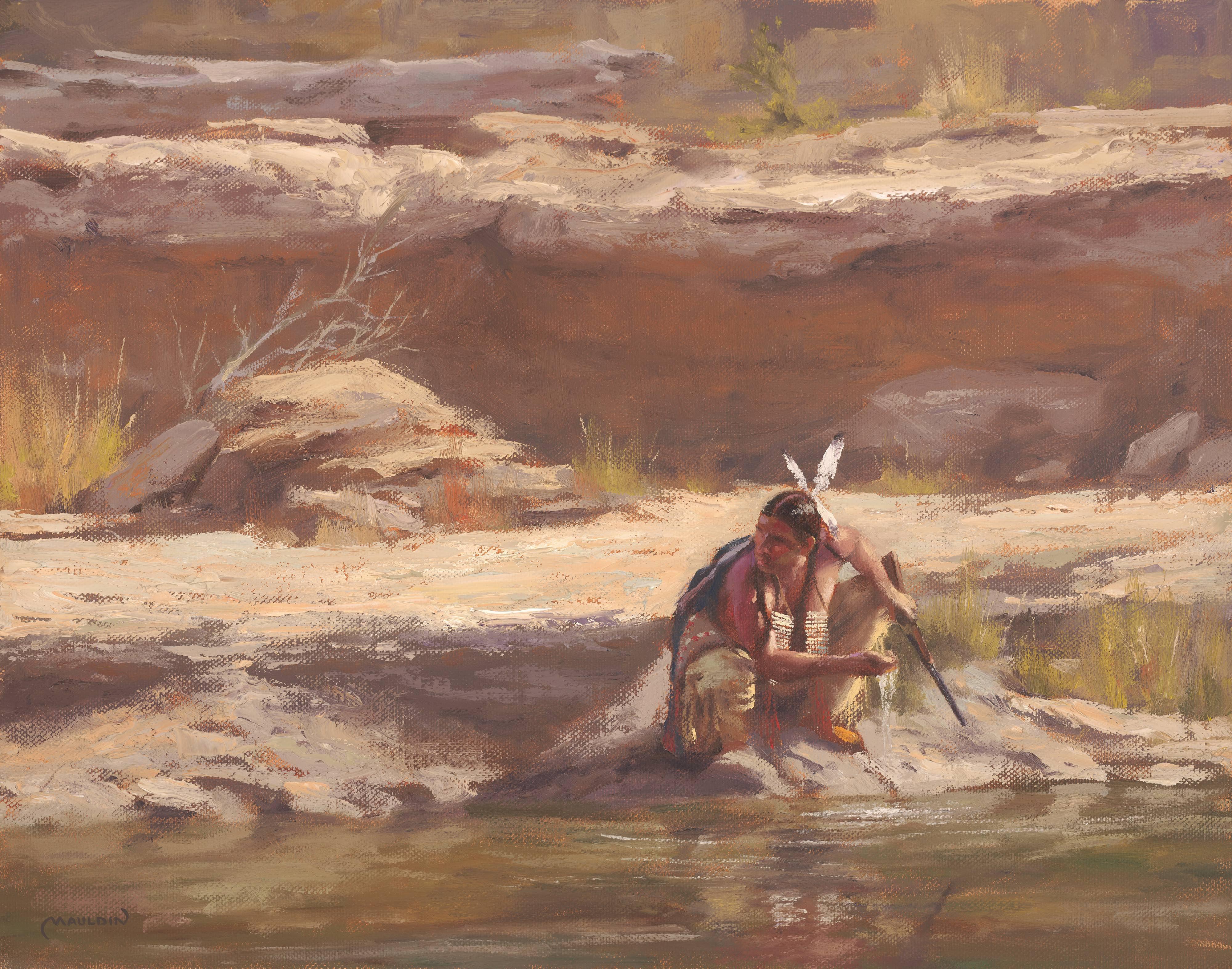 Alone? by  Chuck Mauldin - Masterpiece Online