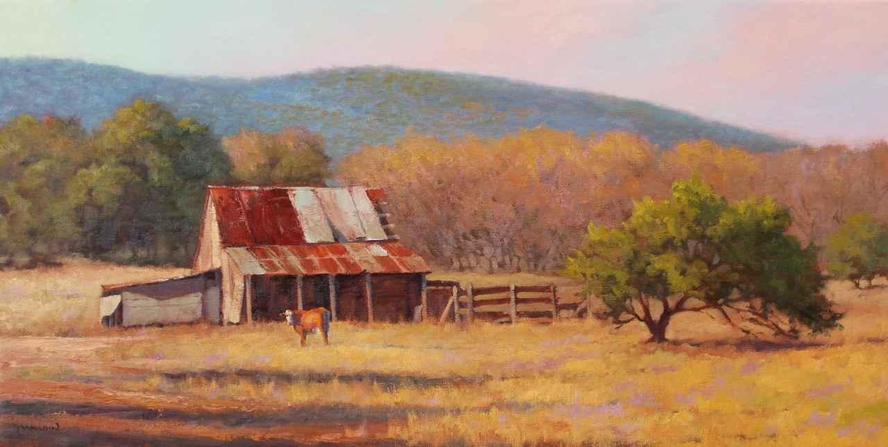 Good Ole Barn by  Chuck Mauldin - Masterpiece Online