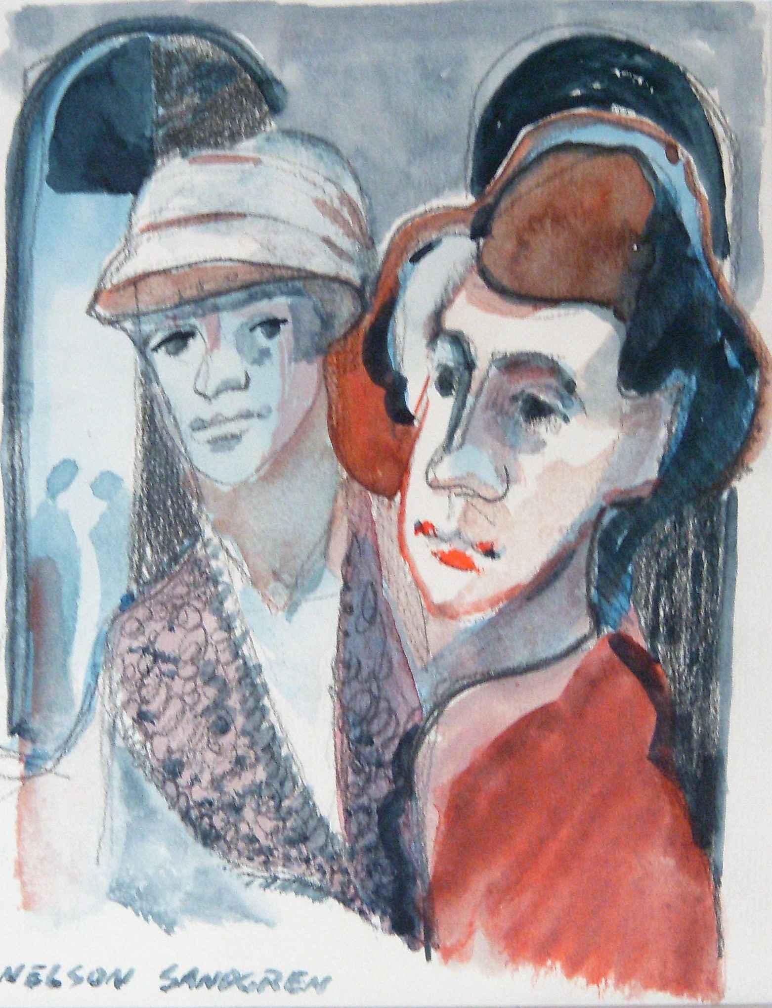 Unknown (couple) by  Nelson Sandgren - Masterpiece Online