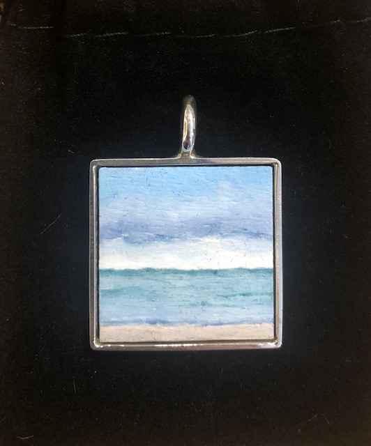 #280 Sm. Sq. Seascape by  Nell Mercier - Masterpiece Online