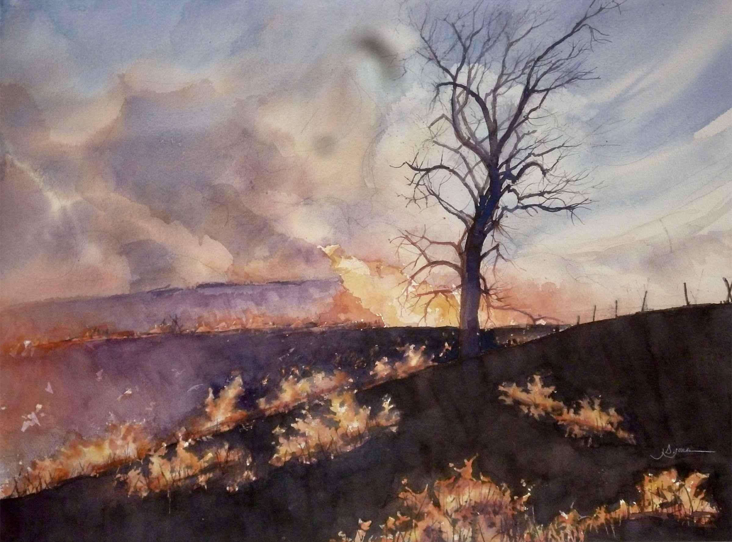Burn Time #2 by  James Jones - Masterpiece Online