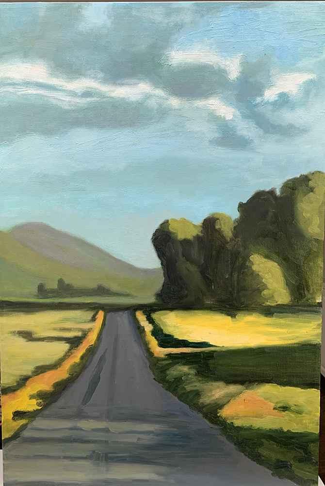 Montana Road  by  Kathleen Weinstock