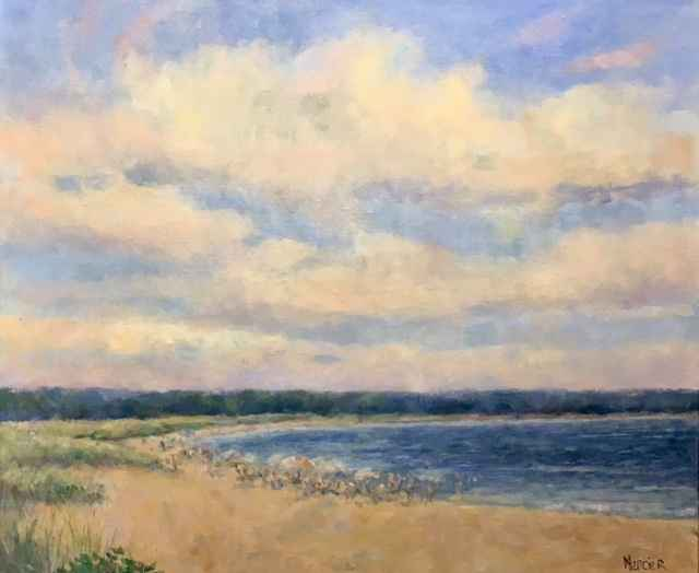 Bend in the Road Beach by  Meg Mercier - Masterpiece Online