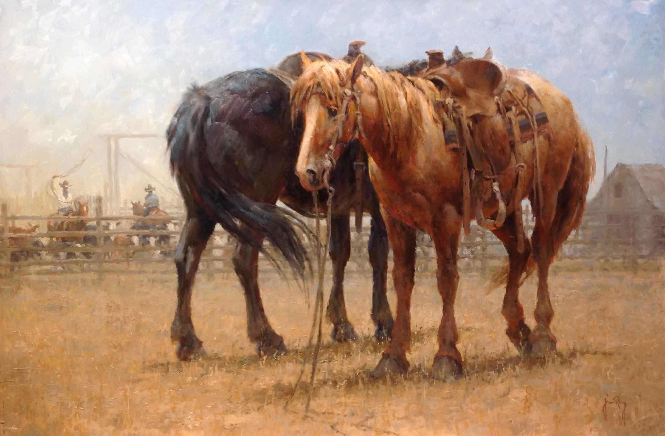 On A Break by  Jim Rey - Masterpiece Online