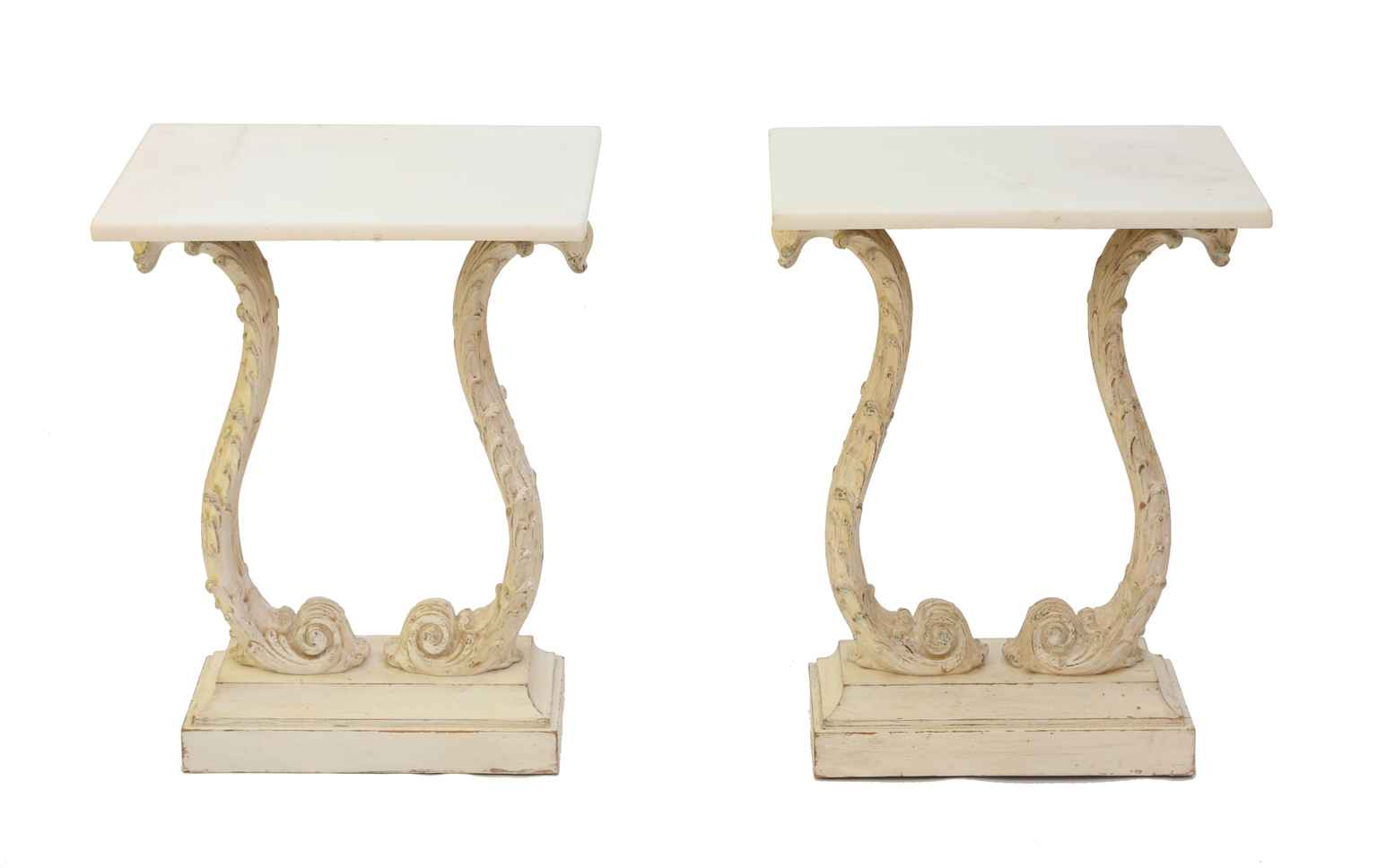 Pair of Carved Italia... by  Italian  - Masterpiece Online