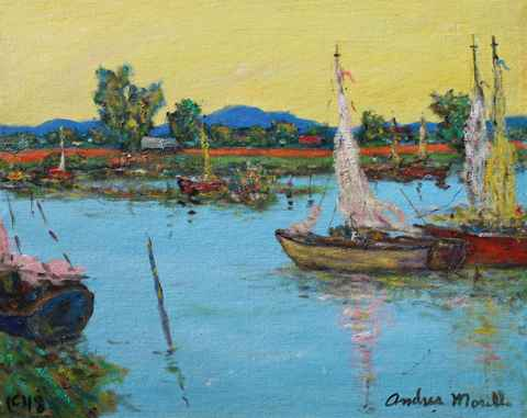 Delta Boat by  Andres  Morillo - Masterpiece Online