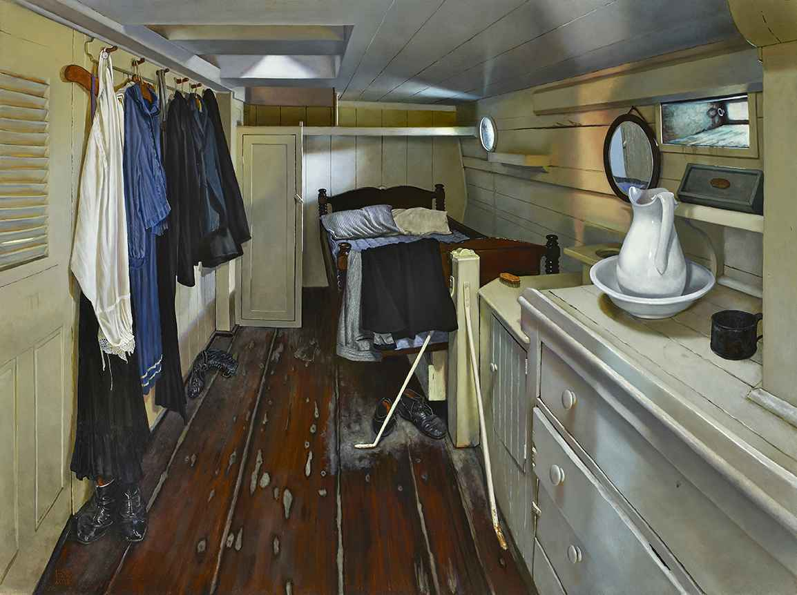 The Captain's Quarters by  Heather Neill - Masterpiece Online