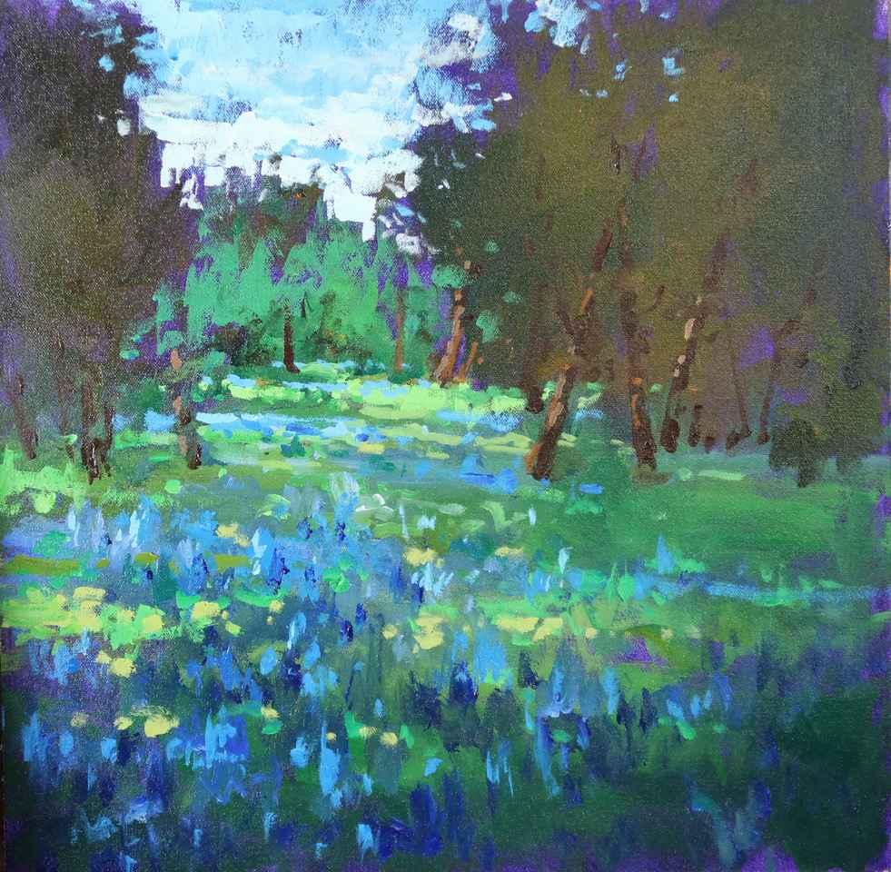 Bluebonnets by  Neil Patterson - Masterpiece Online