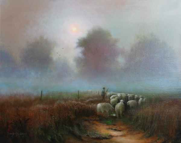Misty Morning by  Roger  Budney - Masterpiece Online
