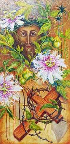 In My Garden, The Pas... by Mrs Sonia Tuleja - Masterpiece Online