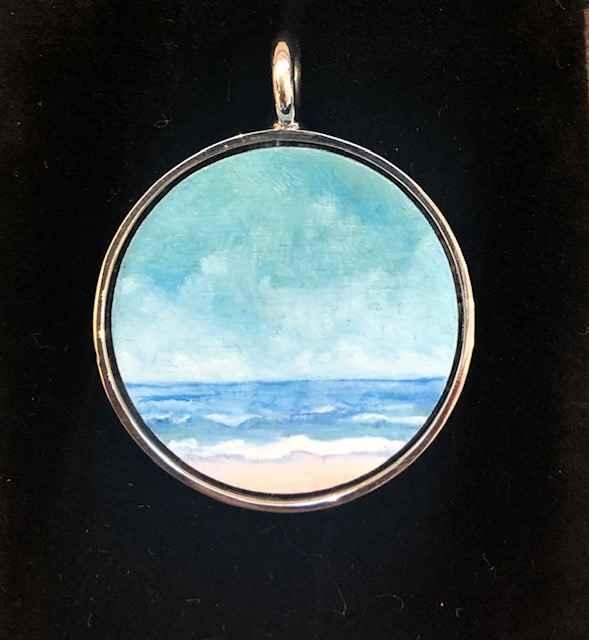 #276 Med. O Seascape by  Nell Mercier - Masterpiece Online