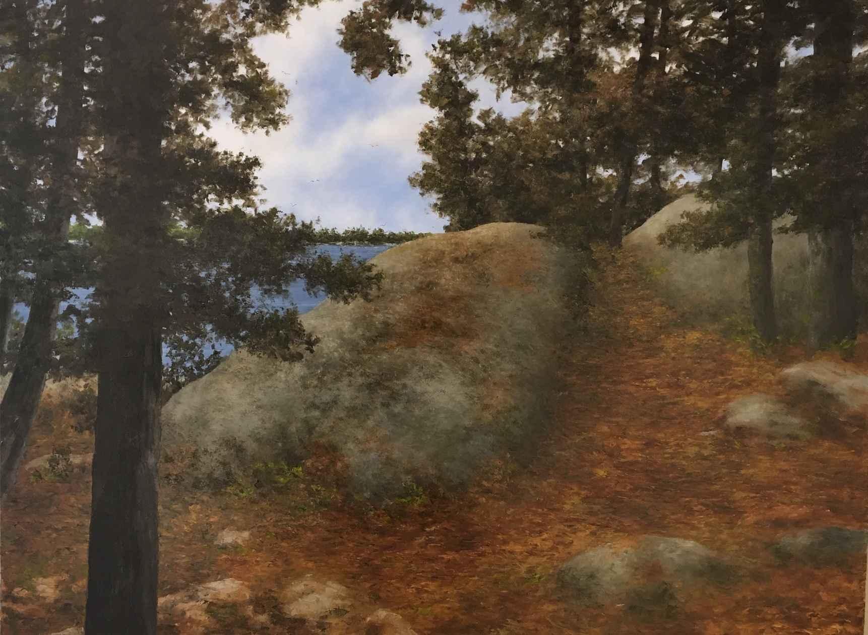 Muskoka Shores by Mr. Lorne McDermott - Masterpiece Online