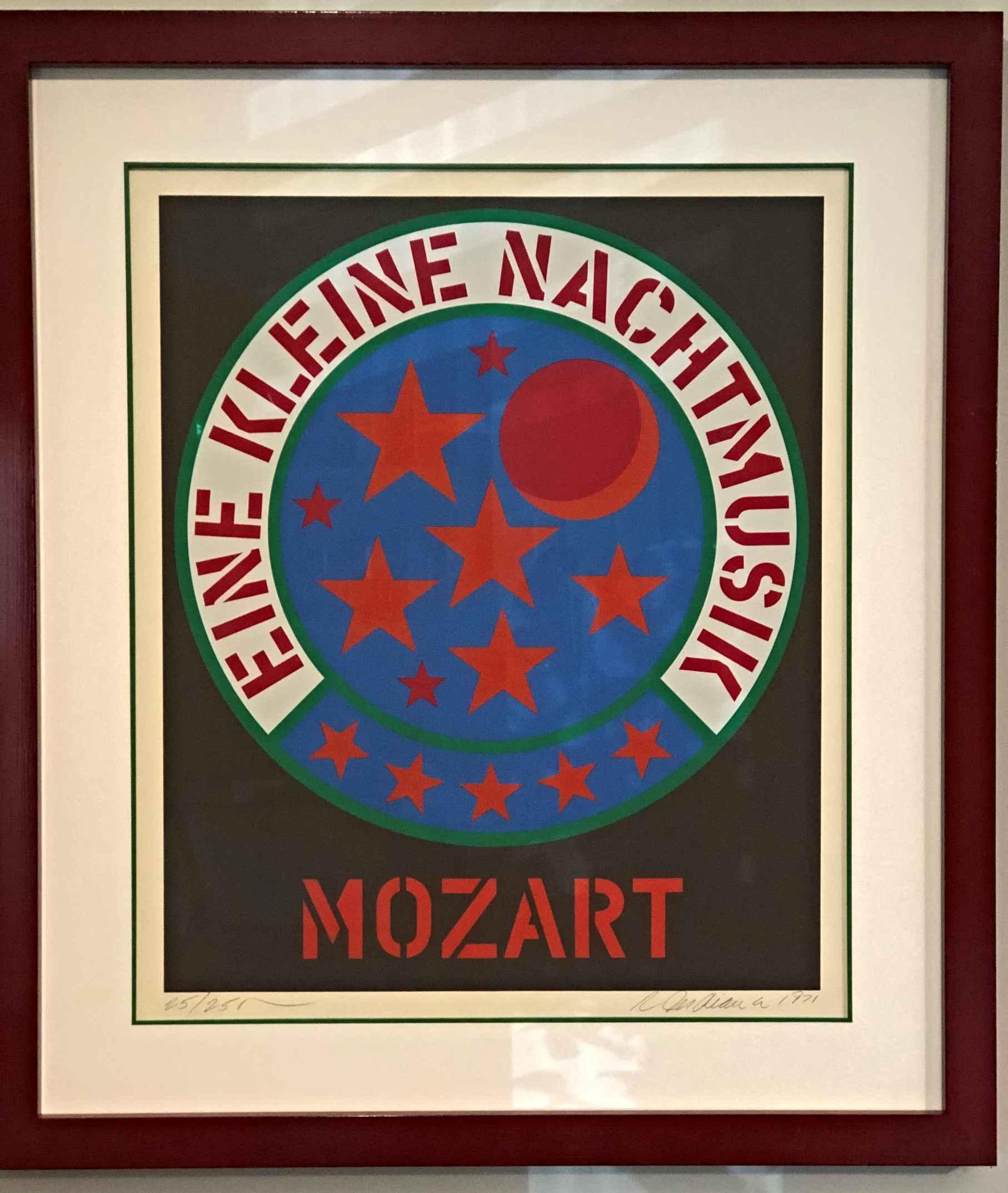 Eine Kleine Nachtmusi... by  Robert Indiana - Masterpiece Online