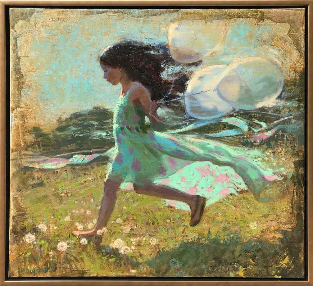 Fairy Dust In The Bre... by  Nancy Boren - Masterpiece Online
